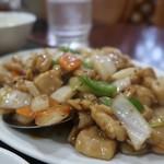 109368100 - 鶏肉の胡椒炒め700円