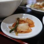 中華料理 福 - 鶏肉の胡椒炒め700円