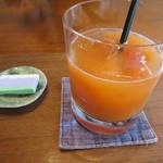 ゼンカフェ - 私は季節のジュースを