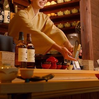 こだわりの日本酒を幅広い温度帯で味わえる、オススメの『燗酒』