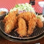 ドルチェ/かつ富 - 牡蠣フライ定食