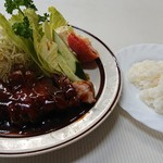 辰巳軒 - ポークソテー上¥1,300