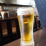 千日前 やすだや - 生ビール