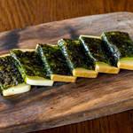 スモークチーズの磯辺巻き