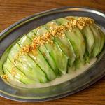 昭和のバー風 きゅうりサラダ