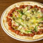 昭和のミックスピザ