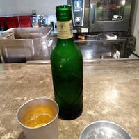 名前のないラーメン屋-ハートランドビール