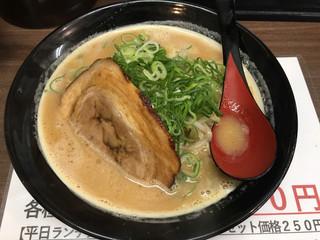 味噌之達人 箕面本店 - みそたつらぁ麺(¥730)
