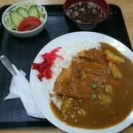 一平食堂 - 料理写真:カツカレー