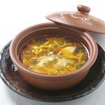 フカヒレとクワン草入り和漢スープ