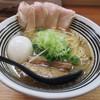 極麺 青二犀 - 料理写真:【しおらーめん + 煮たまご】¥700 + ¥100