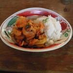 10938388 - チキンと焼き野菜のトマトソース煮込み