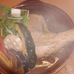 sankare-andokarune - 彩り野菜と煮込みチキンスープカレー