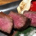 博多磯ぎよし - ランプ肉は噛み応えがありますけれど、普通に美味しい。
