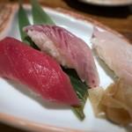 博多磯ぎよし - *「鮪」「太刀魚」「伊佐木」・・伊佐木が好み。