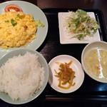 四川料理真味 - 日替わり定食700円