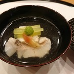 馬車道 大かわ - 鯛と湯葉豆腐の椀