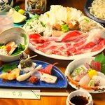 そばと和食のお店 神楽 本店 - しゃぶしゃぶコース