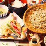 そばと和食のお店 神楽 本店 - お昼の御膳