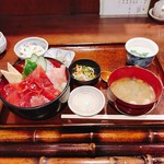 仁松庵 - 鉄火丼の定食