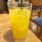 kawara CAFE&DINING - シンデレラ626円 オレンジジュース+パインジュース+レモンジュース