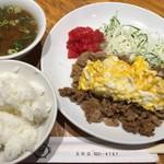 ニューハマヤ - ダブダブ定食