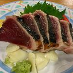 Yairotei - わら焼き塩たたき 1,250円