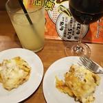 タキ ベイク - バルメニューラザニアとワイン
