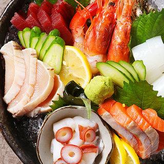 【串だけじゃない!?~瀬戸内の新鮮な魚介を心ゆくまで~】