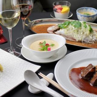 広東料理を引き立てる紹興酒と日本酒