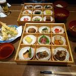 百膳 - 九種のおばんざい膳 てんぷら付き』 3200円