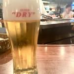 109387460 - 生なビール...(¥490)