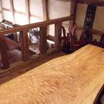 角打ち 酒屋の隣 - 2階テーブル