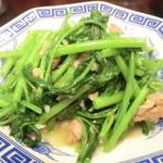 台湾料理 もやし - 空心菜炒め¥600