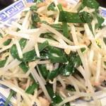 台湾料理 もやし - ニラもやし¥500
