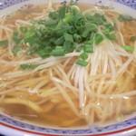 台湾料理 もやし - 汁そば¥500