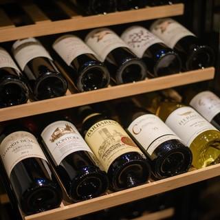 「飲み比べ」有り。【リーズナブル】にワインを楽しめます!!