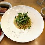J'adore Chayamachi - 豆苗とツナの和風ペペロンチーノ