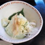 109394152 - 青大豆 冷し豆腐