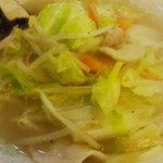 1094791 - タンメン: 炒めた野菜が香ばしい