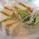 Cafe FUZIMI - 野菜サンド(単品500円)