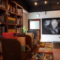 ワールドブックカフェ - 店内ブックスペース