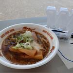 まるは BEYOND - 料理写真:札幌焦がしにんにく味噌らぁめん~☆