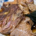 みどり食堂 - 明石鯛あら煮2