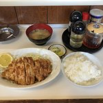 ふるさとラーメン - 生姜焼き定食 850円