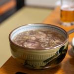 米沢牛亭 ぐっど - 2019.6 牛テールスープ(400円)