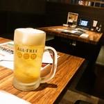 109405844 - 氷入りキンキンなんたらというノンアルビール 薄いノンアルビールと思えばよい