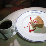CAFE GITANE - 米粉のシフォンとコーヒー