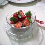 CAFE GITANE - 特製ベリーの冷たいデザート