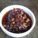 麺処田ぶし - 味のアクセントに!田ぶし特製の【食べるラー油】いかがですか?
